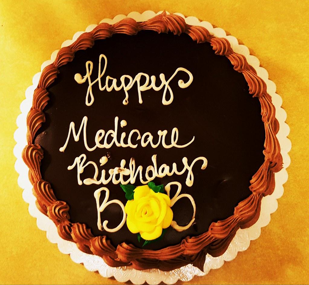 Medicare birthday cake