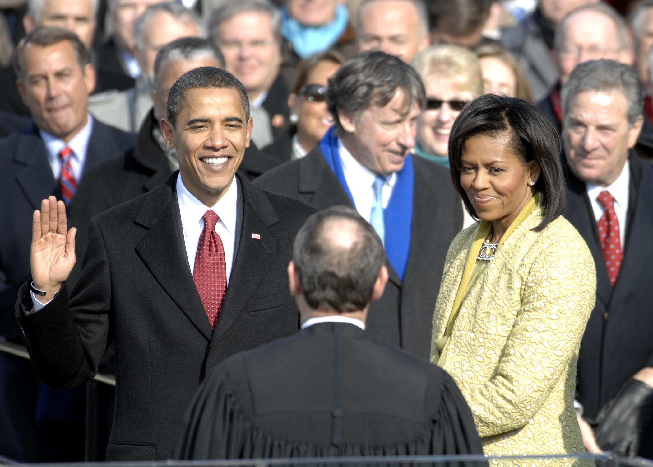 Obama first black president
