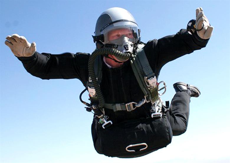 parachute escape