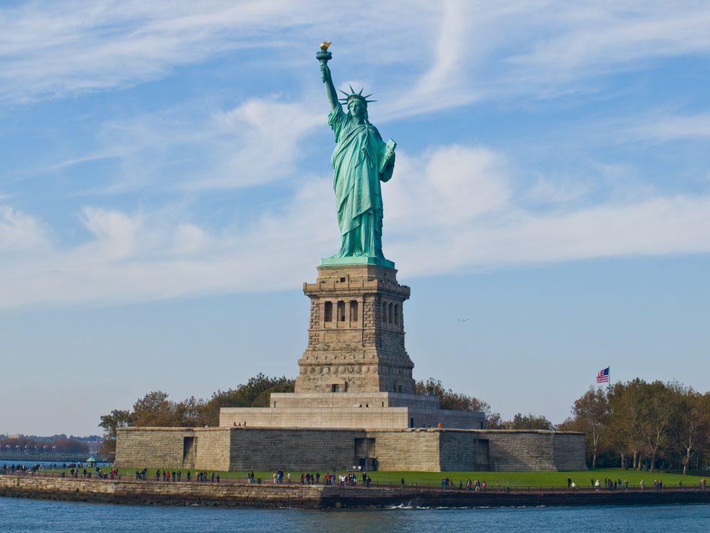 statue of liberty copper
