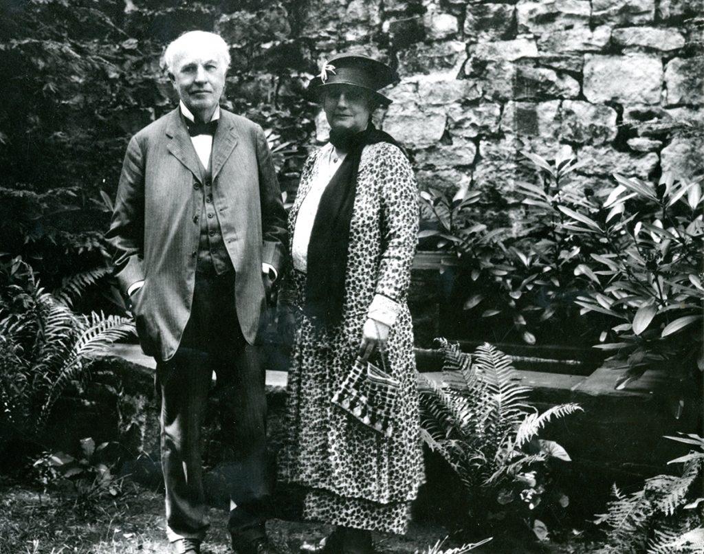 Nina Miller Thomas Edison
