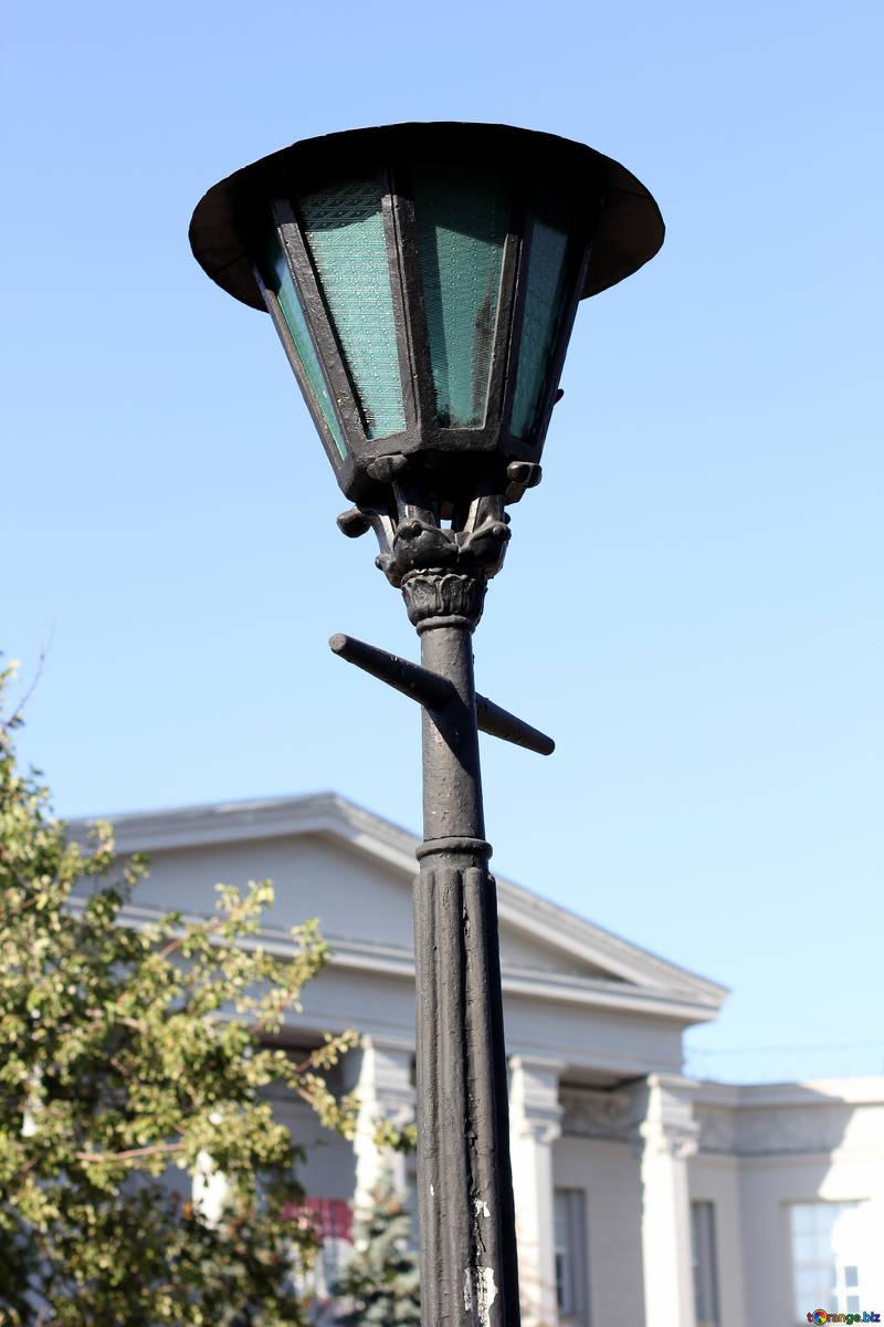 old streetlight
