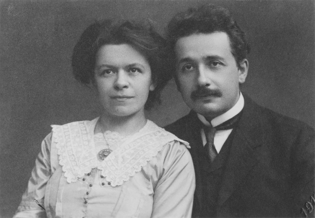 Einstein and Mileva Marić