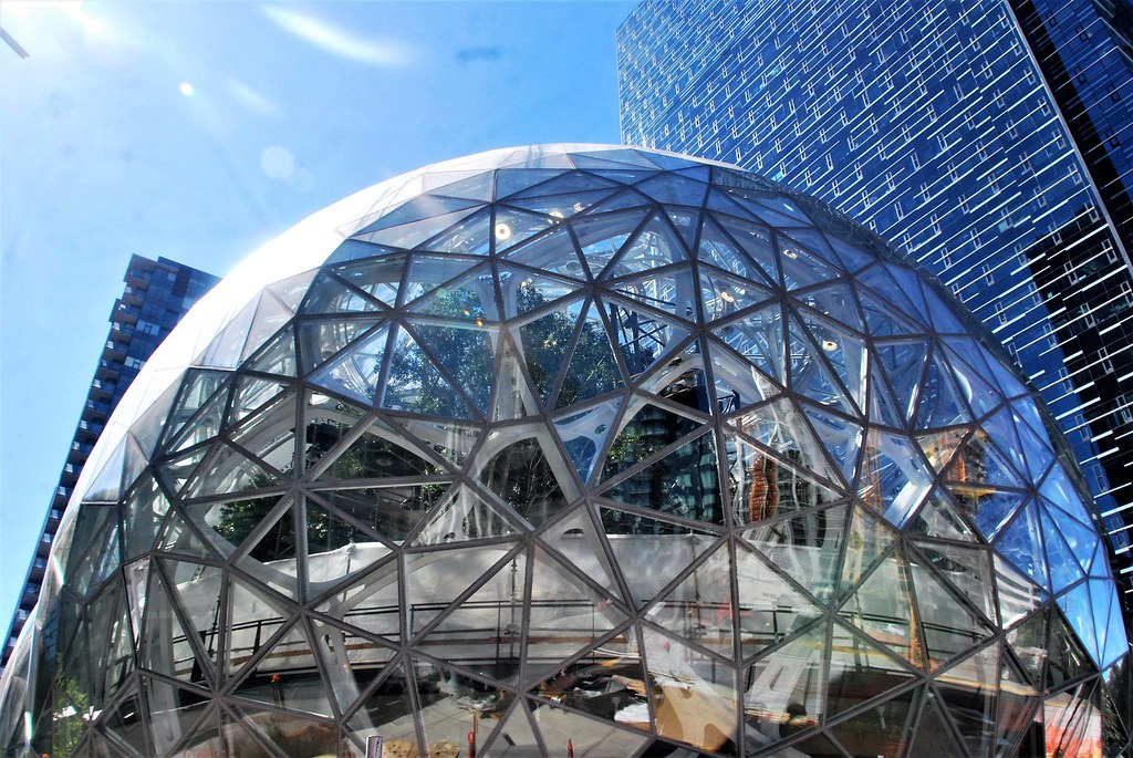 Amazon HQ sphere