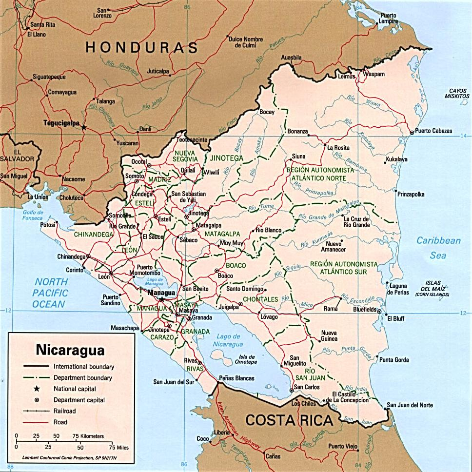 Nicaragua facts