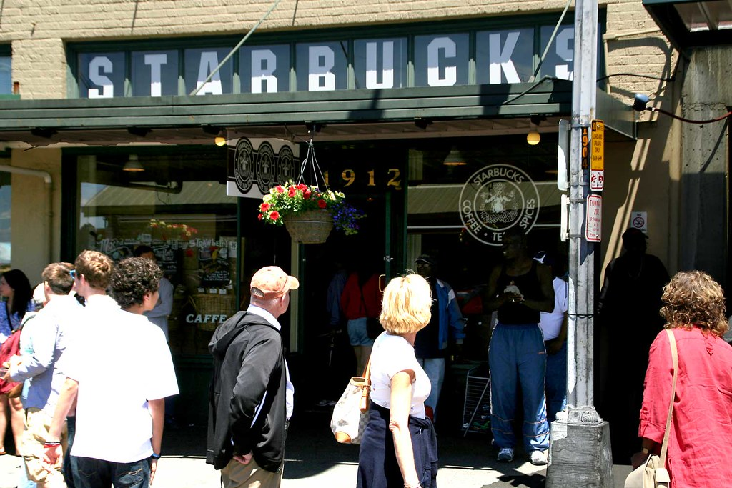 first Starbucks