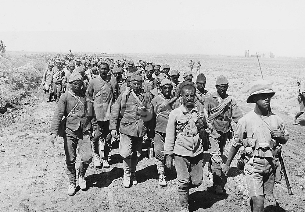 Turkish prisoners in World War 1