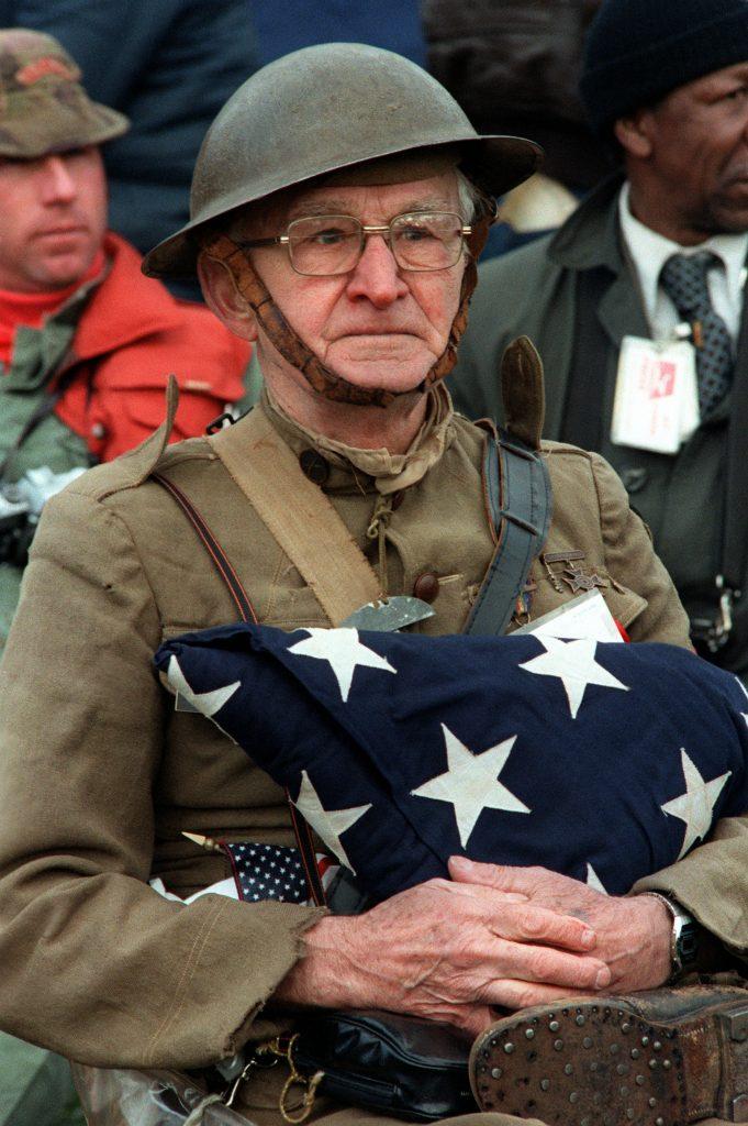 WW1 veteran Joseph Ambrose