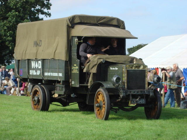 world war 1 army truck