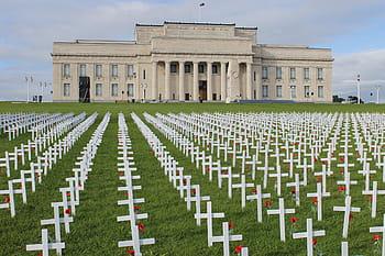 Battle of the Somme memorial crosses