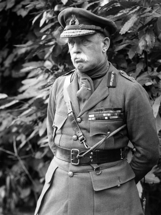 Commander Sir John French in France
