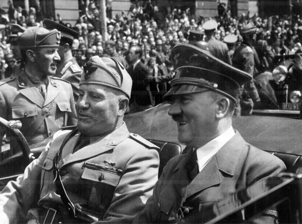 Hitler Mussolini pact