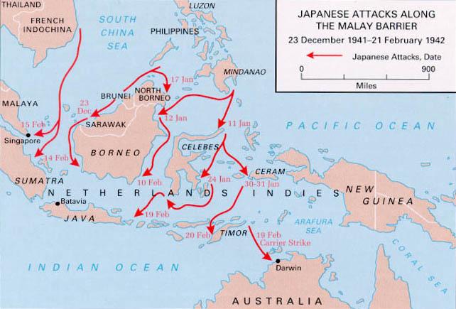 Japanese-Attacks-Along-Malay-Barrier