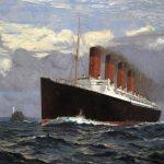 Lusitania painting