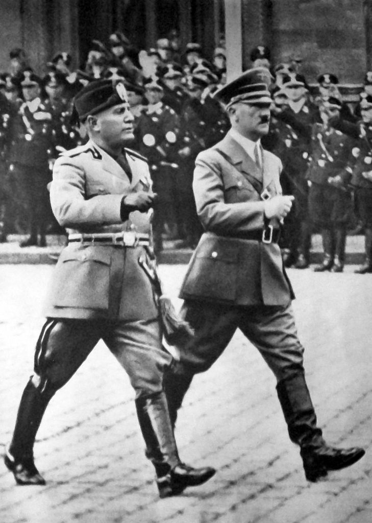 Mussolini Hitler Pact of Steel