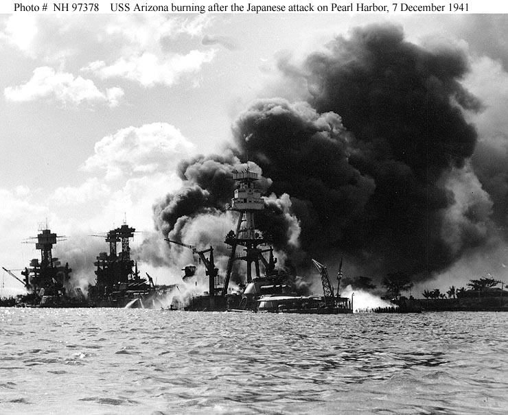 Pearl Harbor USS Arizona