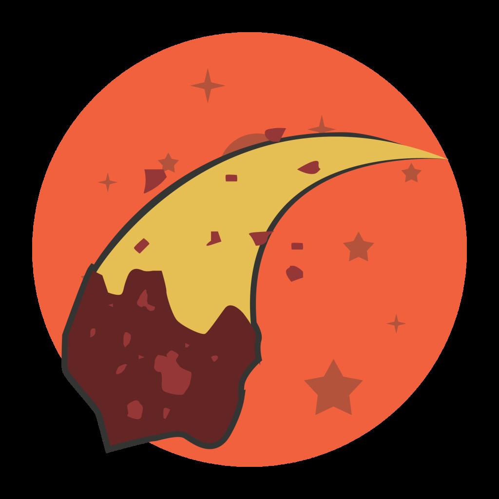 meteorite collision