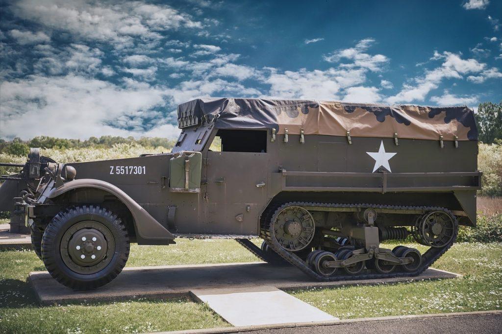 military vehicle WW2