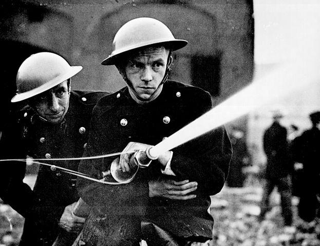 Battle of Britain firefighter
