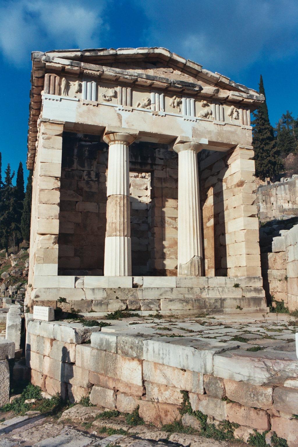 ancient bank