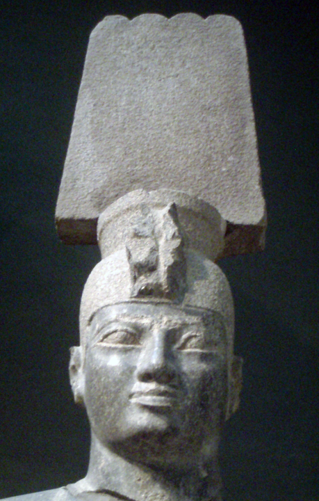 Statue of the Kushite pharaoh