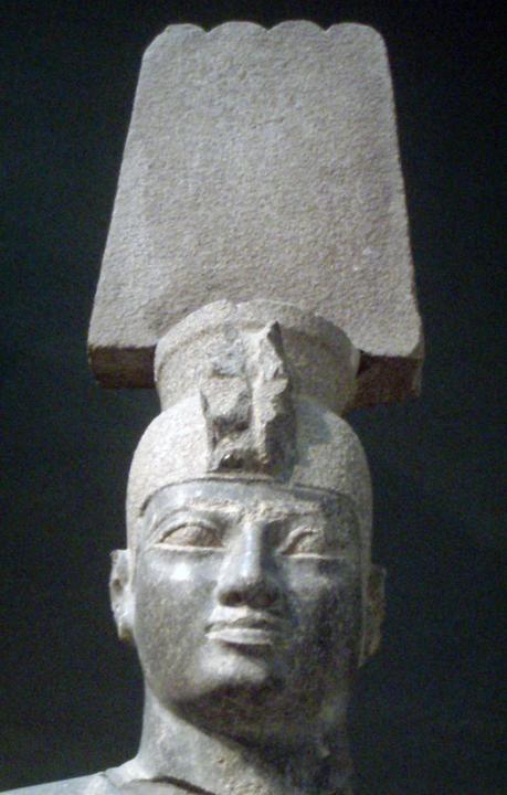 Statue of the Kushite pharaoh