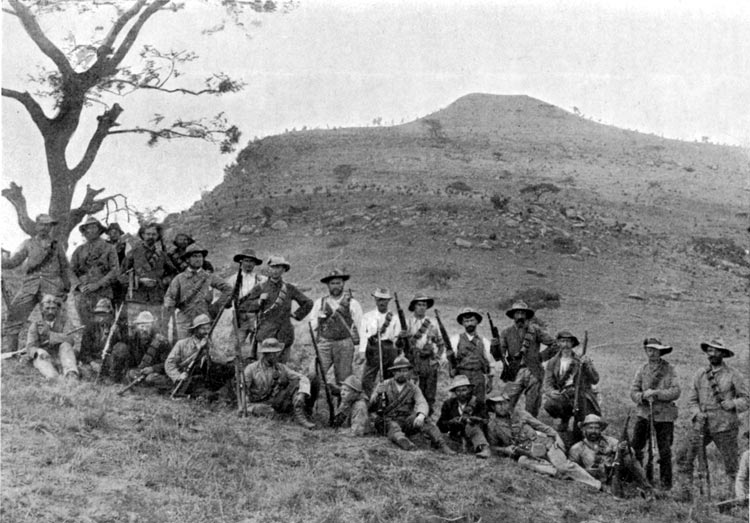 Boers At Spion Kop