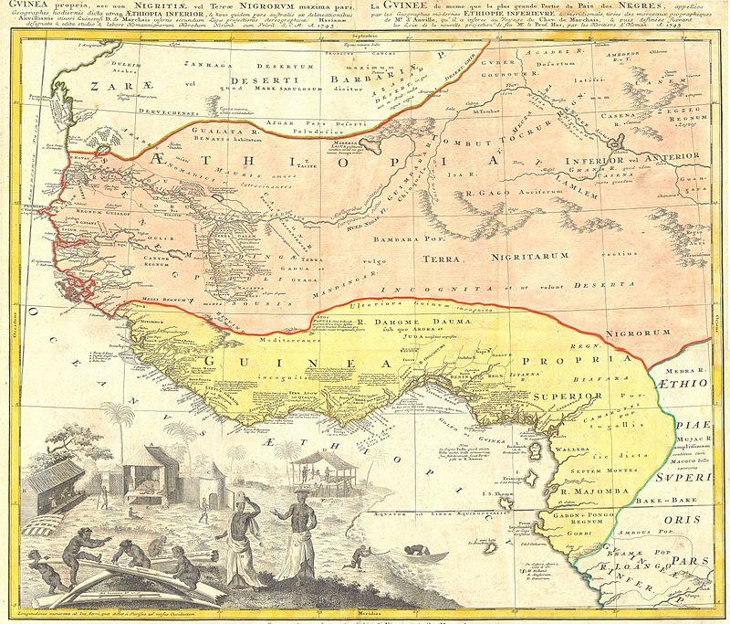 Homann Heirs Map