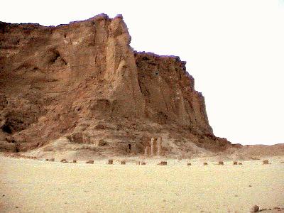 Jebel barkal rock