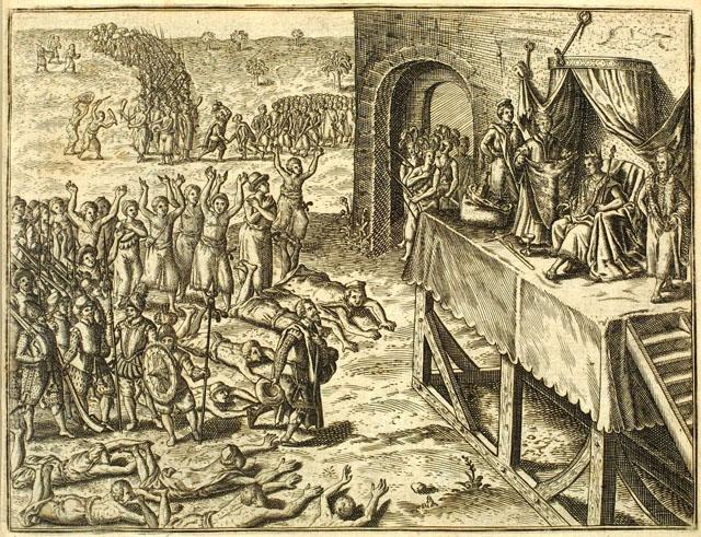 Portuguese encounter with Kongo royal family