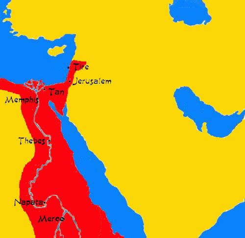 Extent of Kush