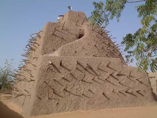 mud building in Mali