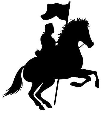 warrior riding horseback