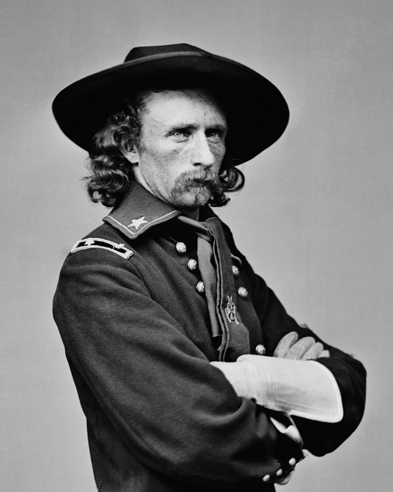 Brevet Major General George Armstrong Custer In Field Uniform