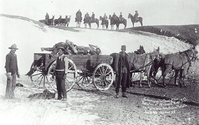 Burial Party Wounded Knee