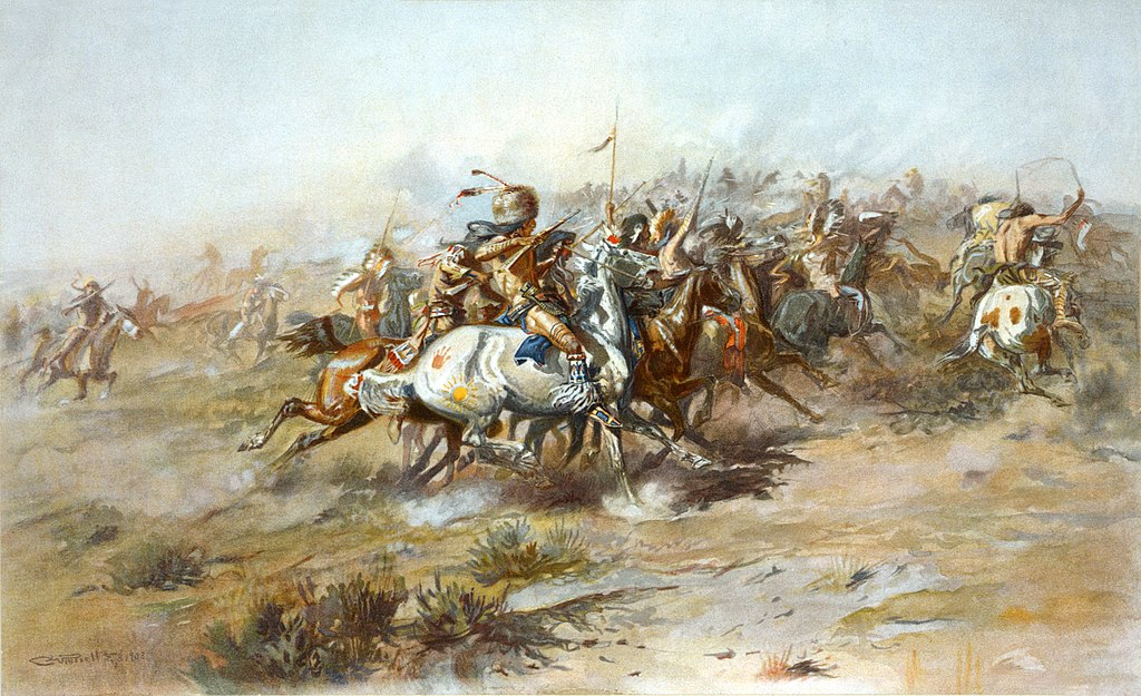 Charles Marion Russell The Custer Fight