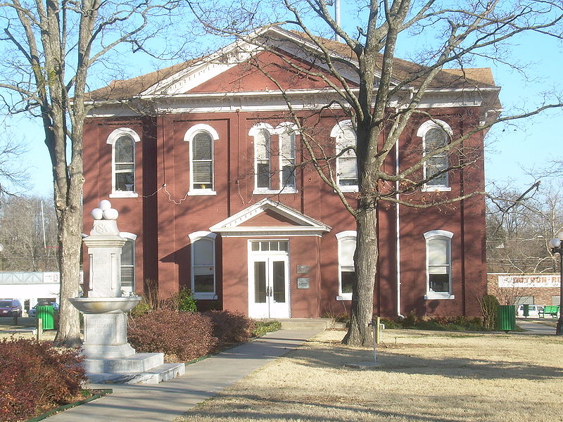 Cherokee Nation Historic Courthouse In Tahlequah