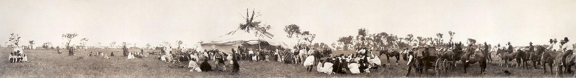Cheyenne Sun Dance Gathering