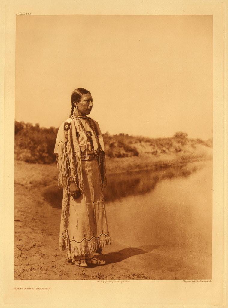 Cheyenne Woman Edward S Curtis