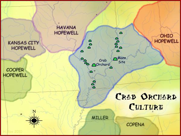 Crab Orchard Culture Map
