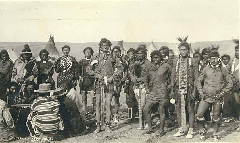 Cree Indian Sun Dancers