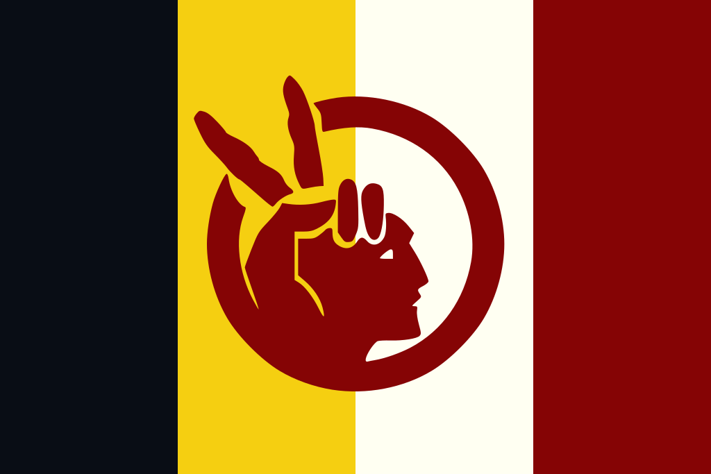 Flag Of The American Indian Movement