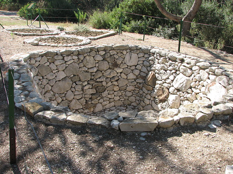 Granaries From An Iron Age Israelite Fortress In The Negev Reconstructed At Derech Hadorot Hecht Museum Haifa