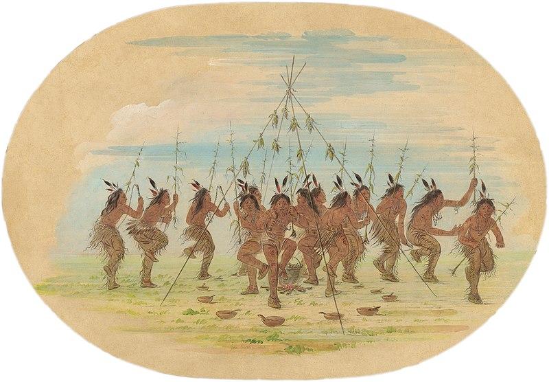 Green Corn Ceremony Minatarrees Dance