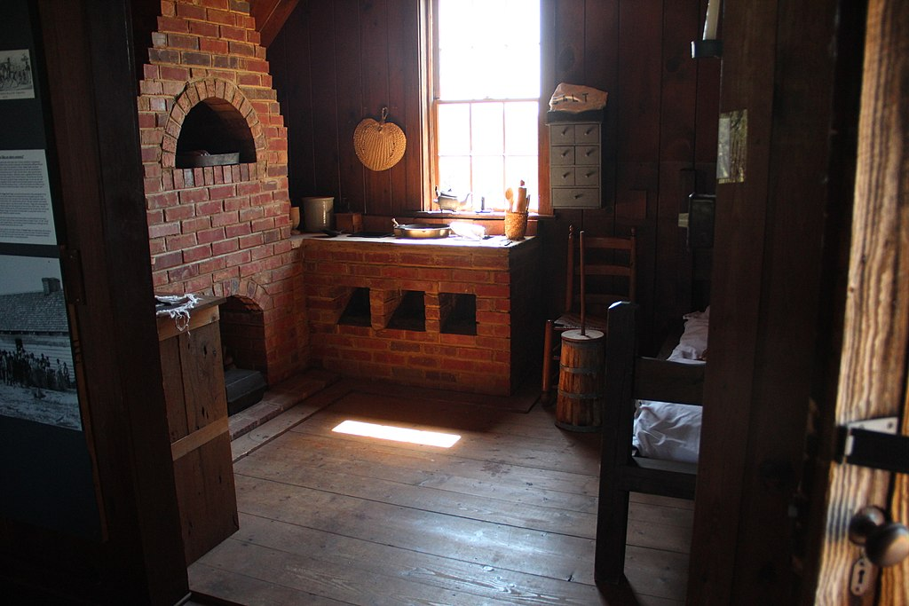 Kitchen Living Quarters Chief Vann House