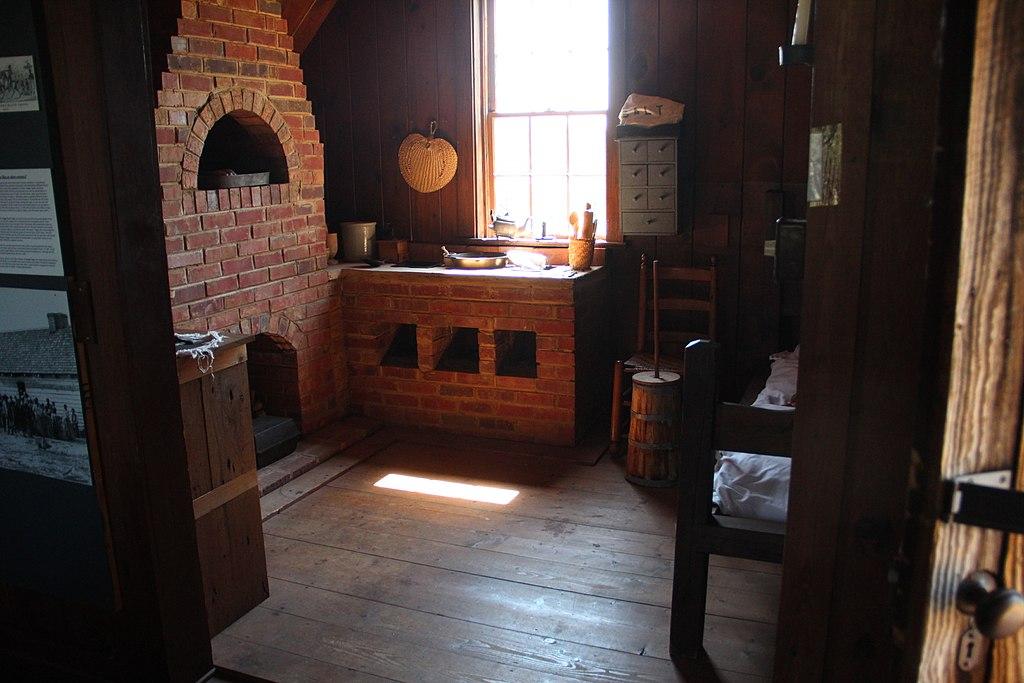 Kitchen Living Quarters Chief Vann House