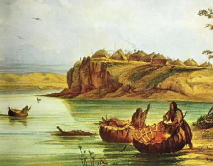 Mandan Bull Boats