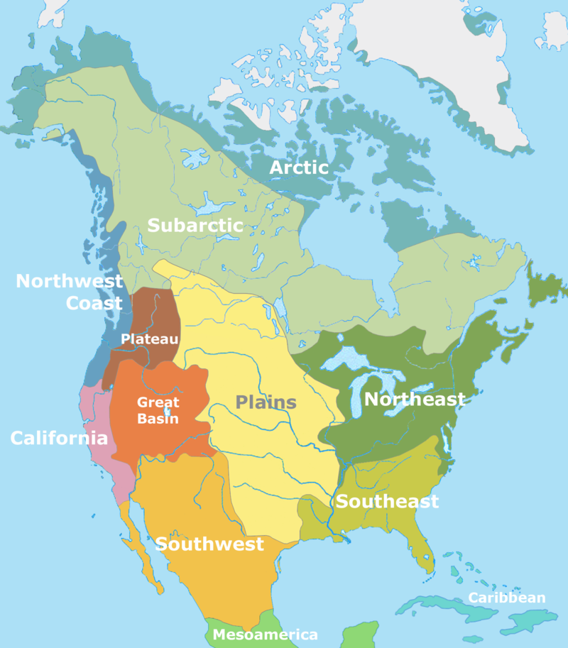 North American Cultural Areas