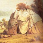 Ojibwa wigwam