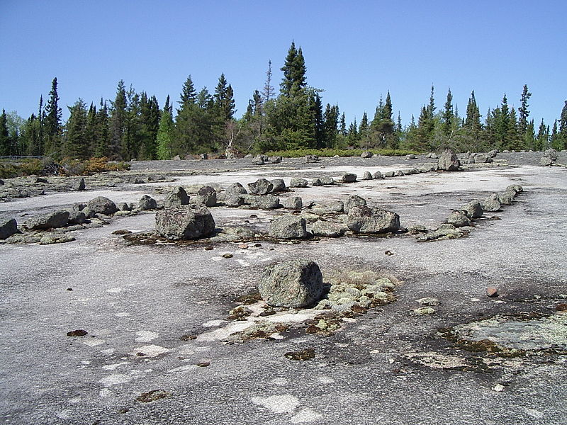 Petroforms In Whiteshell Provincial Park